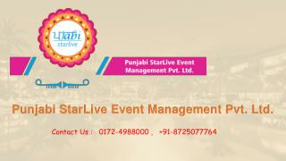 Event Services management Company In Mohali