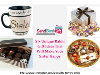 Unique Rakhi Gift Ideas That Will Make Your Sister Happy