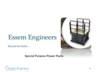 Special Purpose Power Packs - Essem Engineers