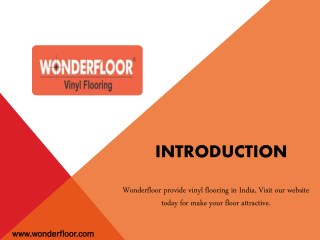 Install Vinyl Flooring from wonderfloor.com