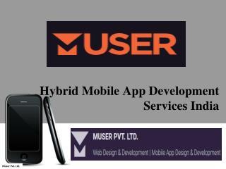 Hybrid Mobile App Development Services India