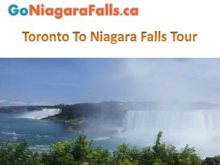 Toronto To Nіаgаrа Falls Tour
