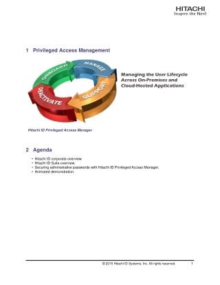 Building an Identity Management Business Case