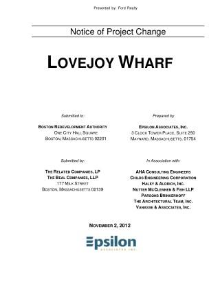 Lovejoy Wharf Condos