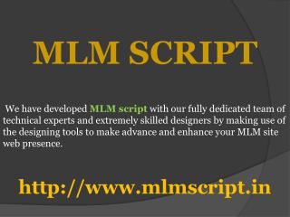 MLM Software | MLM Software Company