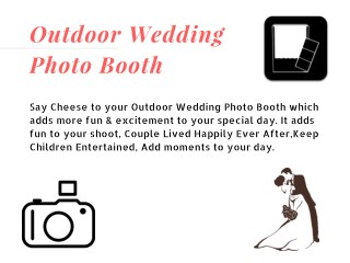 Add Fun To Your Wedding- Say Cheese Photo Booths