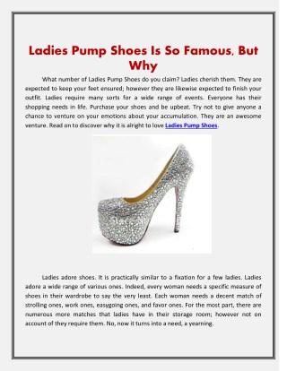 Ladies Pump Shoes | Shop Lexxa