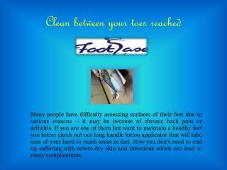 Long Handle Foot Lotion Applicators