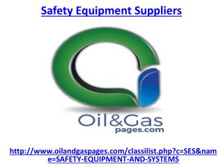 Hire one of the best safety equipment suppliers