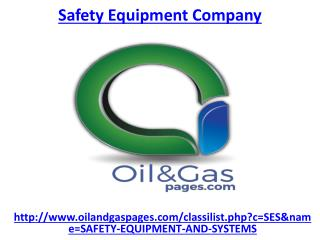 Which one is the best safety equipment company in UAE