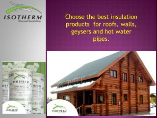 Buy Roof Insulation