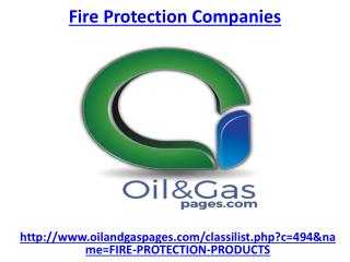 Hire one of the best fire protection companies
