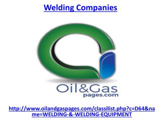 Which one is the best welding companies in UAE