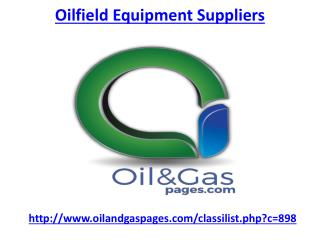 Hire one of leading oilfield equipment suppliers in UAE