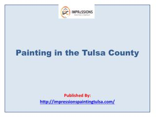 Painting in the Tulsa County