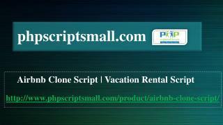 Latest Version of Airbnb Clone Script by phpscriptsmall