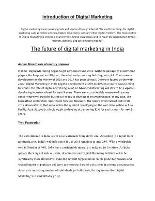 Certified Digital Marketing course / training , internet marketing training in Chandigarh | Mohali