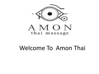 Traditional Thai Massages in Madrid | Amon THAI Massage