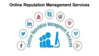 Best online reputation management services