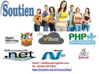 Get Certified By The Best PHP Course in Noida | Soutien Infotech