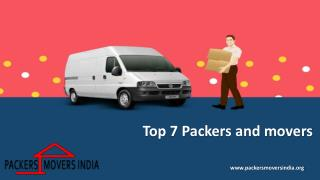 Hire professional Packers and Movers for safe move