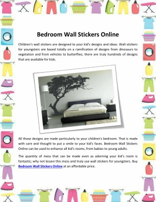 Trending Bedroom Wall Stickers Online