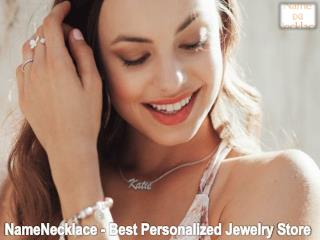 NameNecklace - Best Personalized Jewelry Store