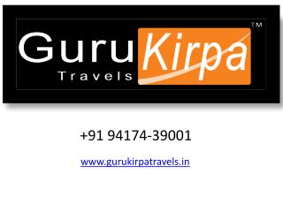 Guru Kirpa Travels | Taxi Hire in Amritsar | Cabs in Amritsar