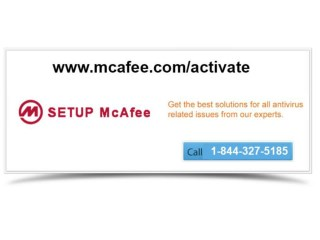 Boost your privacy with mcafee.com/Activate @1-844-327-5185