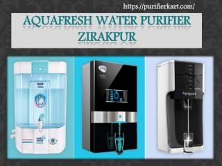 Aqua fresh water purifier Zirakpur Chandigarh