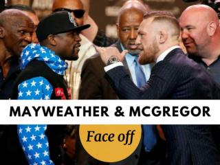 Mayweather vs McGregor World Tour: Los Angeles Faceoff
