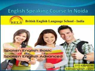 Get English Speaking Course In Noida