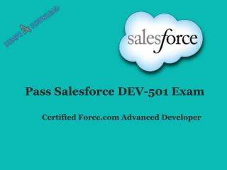 DEV-501 Braindumps - Pass Salesforce DEV-501 Exam - Dumps4download.com