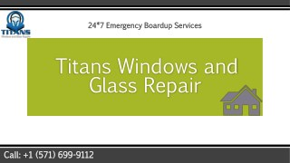 VA Foggy Glass Repair at Titan Windows and Glass Repair