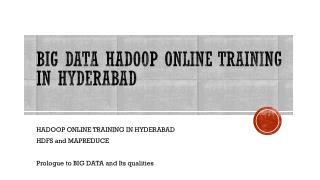 Jasper soft online training in hyderabad