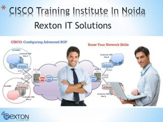 CISCO Training Institute In Noida
