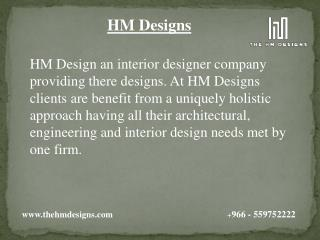 HM Designs Projects and Services