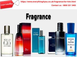 Buy Discount Perfume for him UK | Everything4you