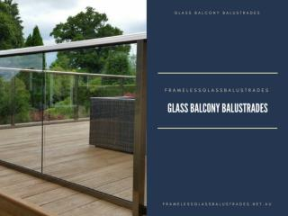 Glass Balcony Balustrades- Changing the Trend of Utility of Glass