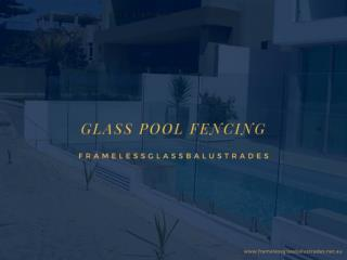 7 Advantages of Glass Pool Fencing