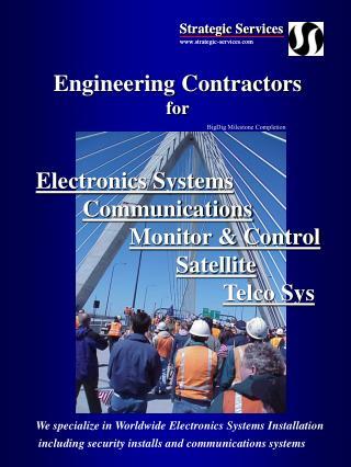 Engineering Contractors for