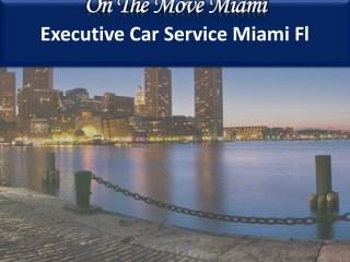 Miami Lux Limousine & Car Service By On The Move Miami