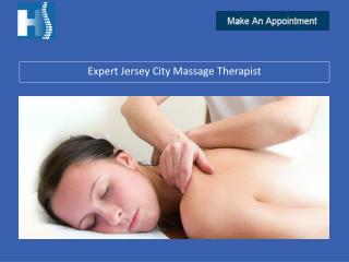Expert Jersey City Massage Therapist