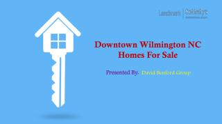 Downtown Wilmington NC Homes For Sale