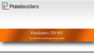 220-902 Dumps With Real Exam Question Answers - Passleaders