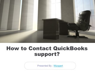 Contact Quickbooks error support 8554414417