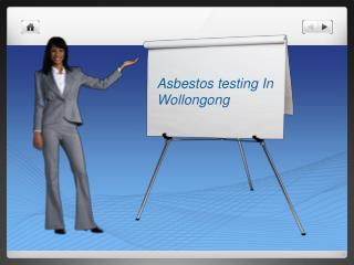 asbestos testing wollongong