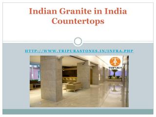 Indian granite in India Countertops