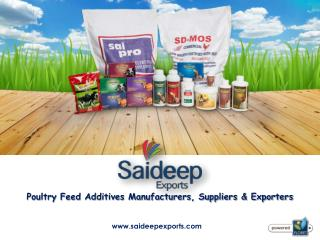 Poultry Feed Premix Manufacturers in India