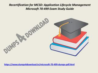 Exact Microsoft 70-499 Exam Qeustion - Microsoft 70-499 Braindumps PDF Dumps4Download